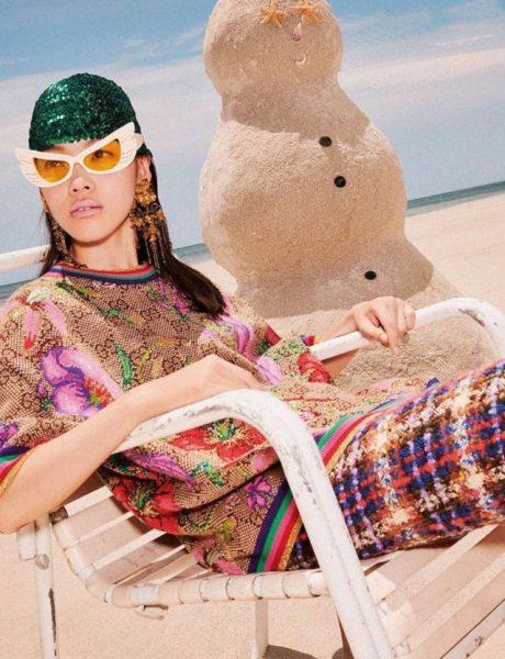 Zimske čarolije na pesku: Gucci nam je predstavio novu i super zabavnu kampanju