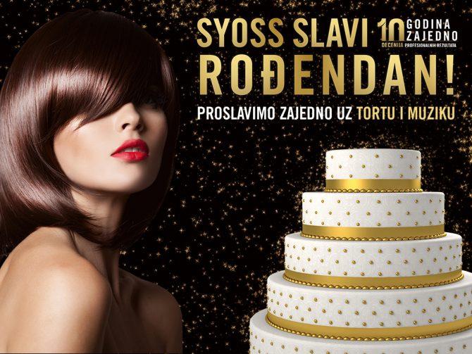 01SRB Syoss LED 1024x768px 400x300 cm 518 28112019 V1a e1576229212398 Syoss proslavlja 10. rođendan velikim partyjem u UŠĆE Shopping Centru!