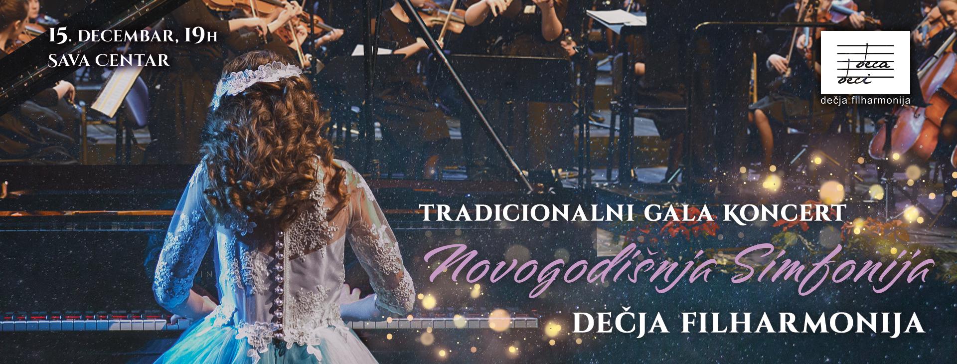 Novogodišnja simfonija Dečje filharmonije
