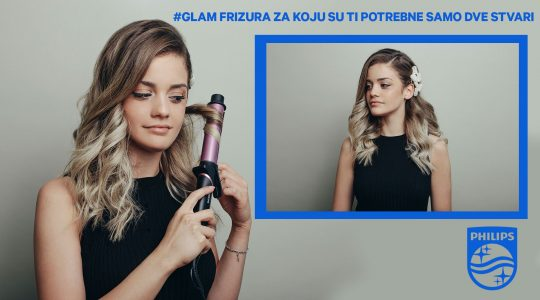 DIY: #Glam frizura