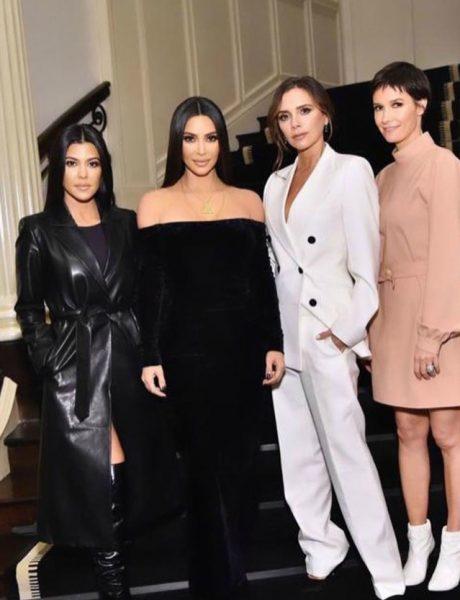 Novo modno prijateljstvo: Victoria Beckham i sestre Kardashian su minimalistička senzacija nedelje