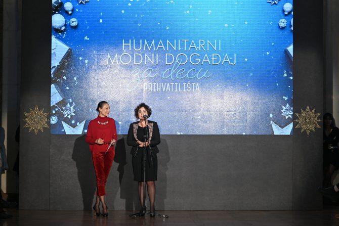 Vesna Mandic vlasnica agencije Fabrika i Danijela Stajkovic direktorka Prihvatilišta e1577188376451 Humanitarna modna revija Fashion Company za decu Prihvatilišta