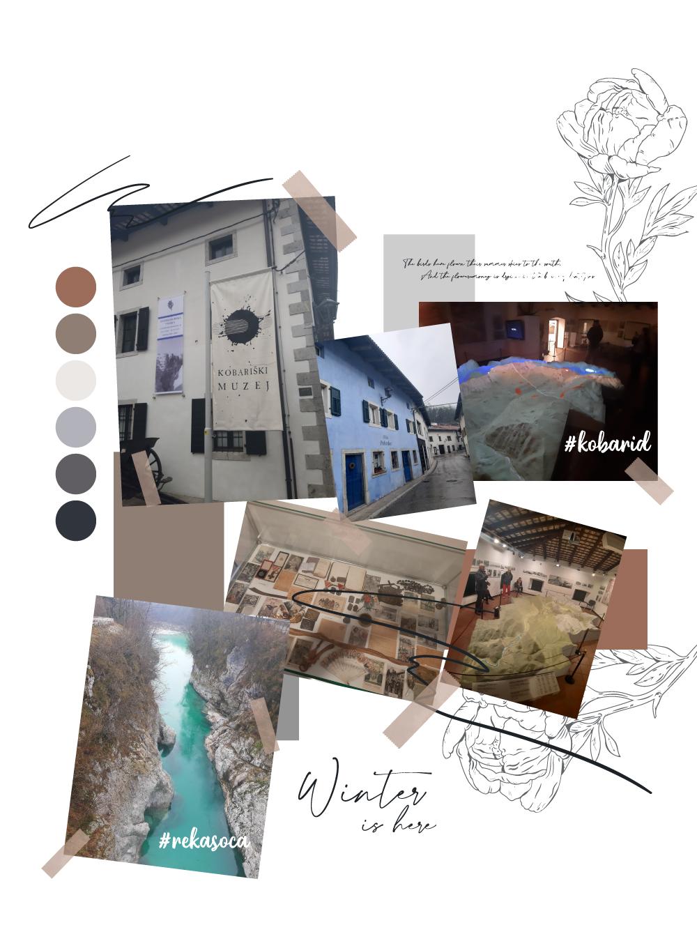 kobarid soca text Vodič za zimu u Sloveniji: Mesta koja treba da posetiš + iskustva koja treba da doživiš
