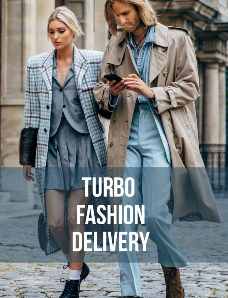 TURBO FASHION DELIVERY: Blue is the greatest color!