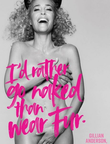 "PETA: Kraj kampanje ""I'd rather go naked than wear fur."""