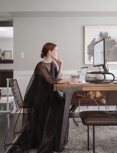 Profil @wfhfits je (zabavna) modna inspiracija za rad od kuće koja nam je svima potrebna!