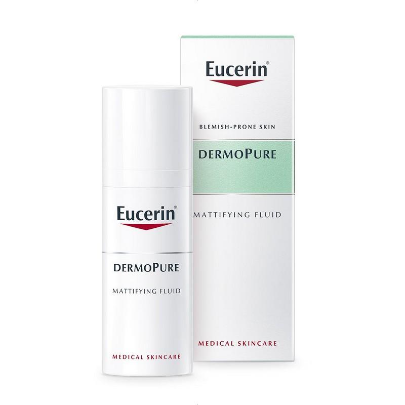 Eucerin DermoPure Matirajuci fluid za masnu kozu lica Saveti za negu problematične kože koji stvarno rade