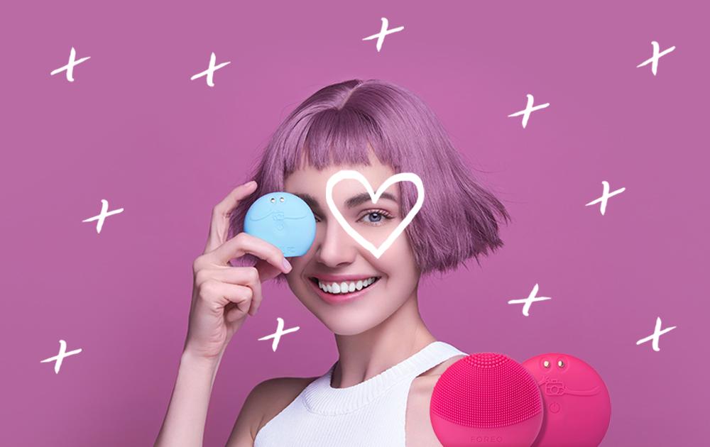 FOREO sajt tekst Prijavi se za FOREO Beauty Glow Up Session & osvoji FOREO LUNA Play Plus!