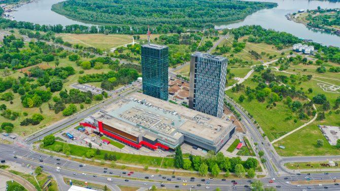 Ušće komplex e1591871477903 Novo idealno mesto za podršku i razvoj poslovanja   svečano otvoren Ušće Tower Two