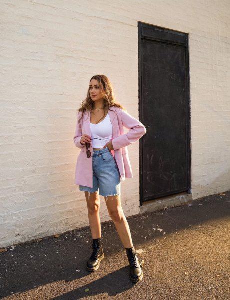 Kako stylish devojke nose teksas šorts ovog leta