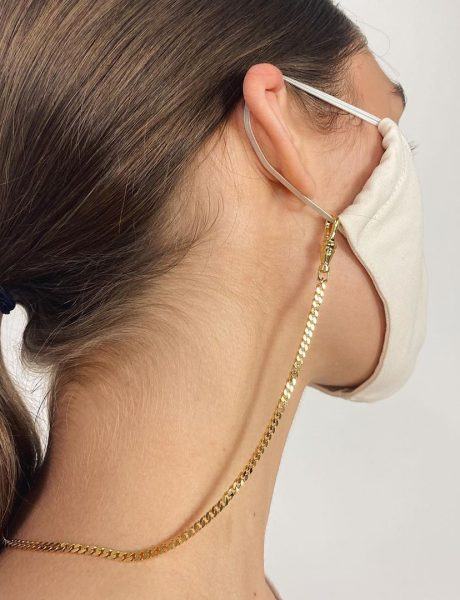 Maske sa lančićem su novi modni trend – jer u 2020. više ništa nije čudno