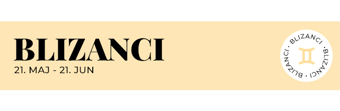 nedeljni horoskop BLIZANCI Nedeljni horoskop: 14. avgust   20. avgust