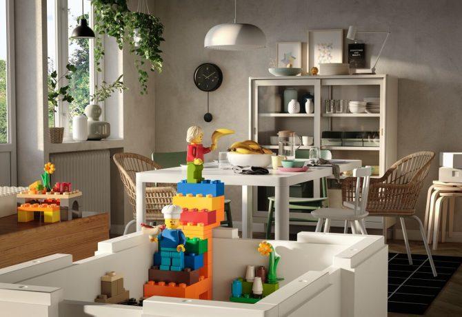 BYGGLEK 3 e1598524727160 IKEA i LEGO predstavljaju BYGGLEK – kreativno rešenje koje povezuje uređeni dom i nesputanu dečju igru