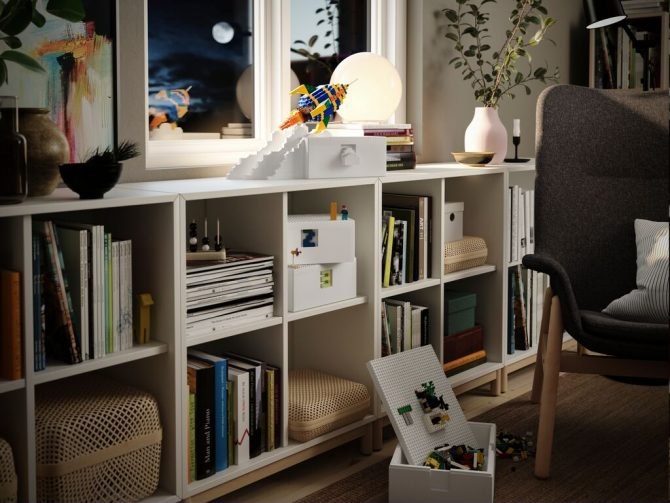 BYGGLEK 4 e1598524752620 IKEA i LEGO predstavljaju BYGGLEK – kreativno rešenje koje povezuje uređeni dom i nesputanu dečju igru