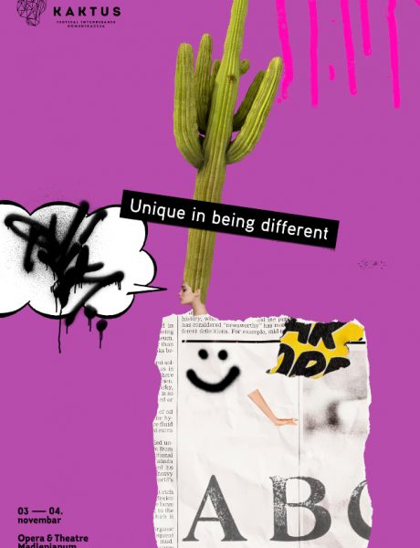 Unique in Being Different – Otvoren konkurs za nagrade KAKTUS 2020!