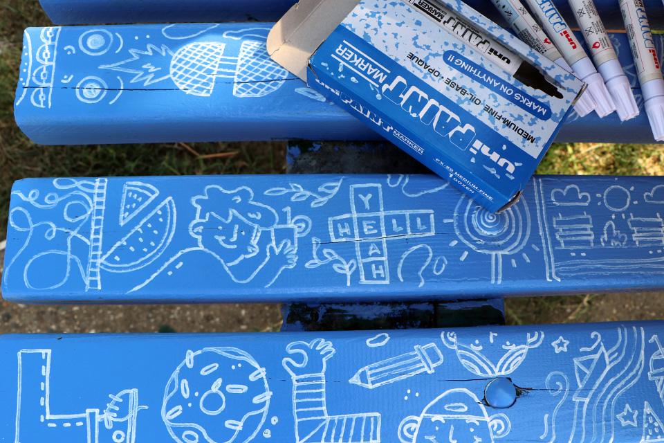 MET klupe 2 Letnje umetničko osveženje – MET klupe na šetalištu 25. maj