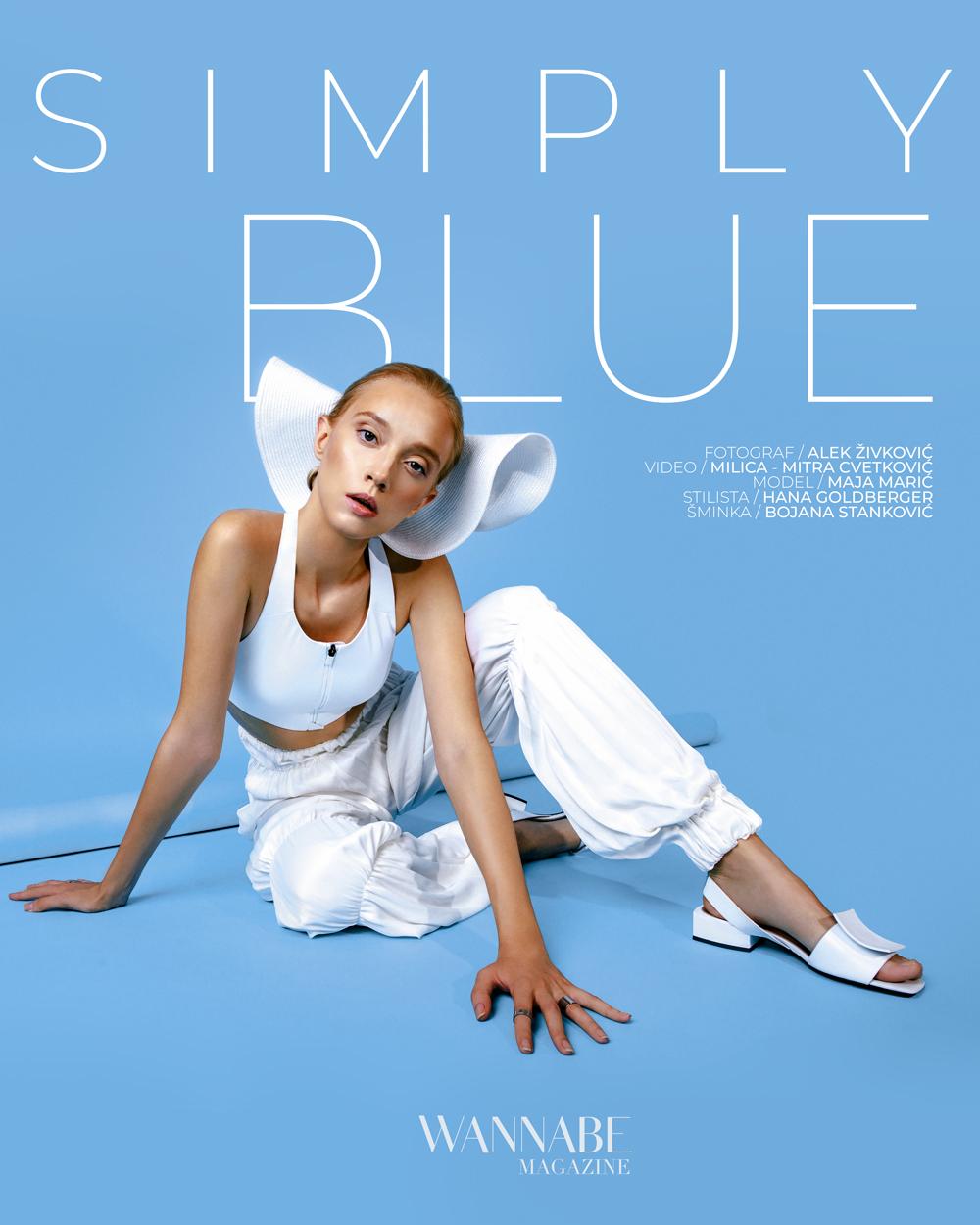 NASLOVNA 2 WANNABE EDITORIJAL: Simply Blue