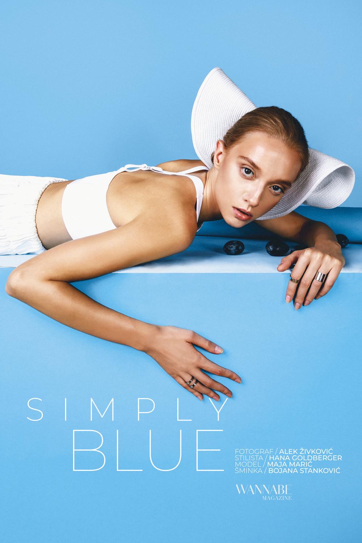 WANNABE EDITORIJAL: Simply Blue