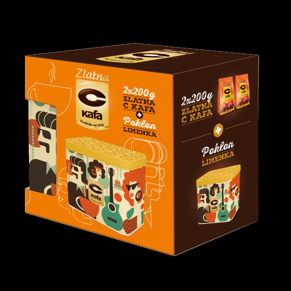 Zlatna C kafa e1599491893983 Zlatna C kafa i nova poklon limenka bude sećanja + GIVEAWAY