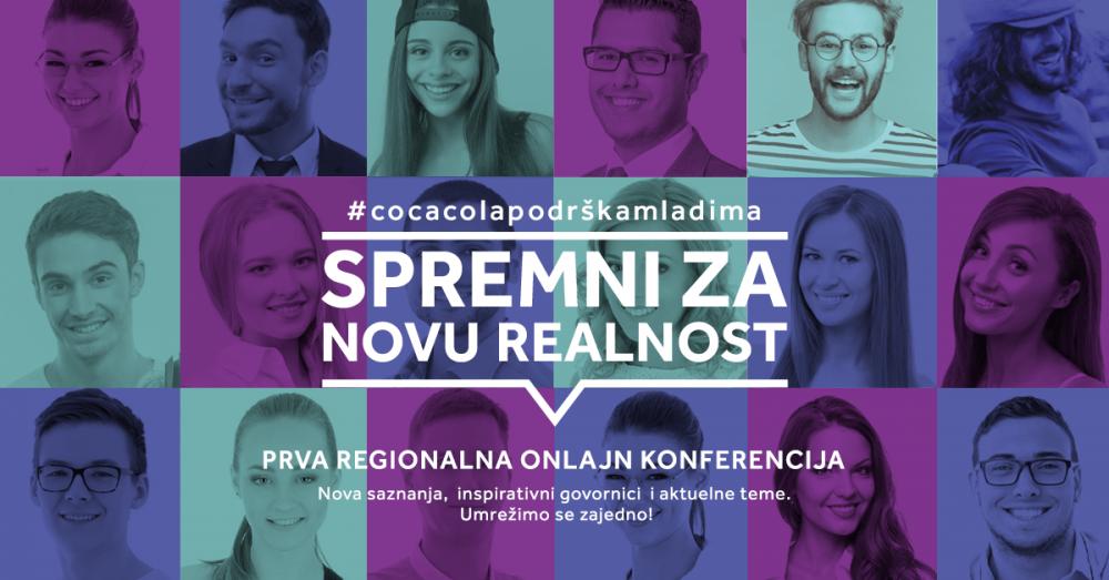 CC vizual e1601648954905 Organizovana prva online regionalna konferencija u okviru programa Coca Cola podrška mladima