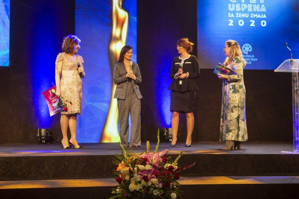 Dobitnice nagrade Cvet uspeha u intervjuu sa Tanjom Peternek e1603971296173 Proglašene najbolje preduzetnice i rodno najsenzitivnije kompanije u Srbiji