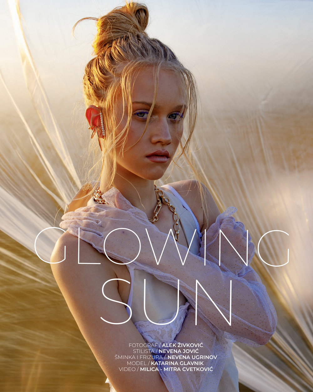 WANNABE EDITORIJAL: Glowing Sun
