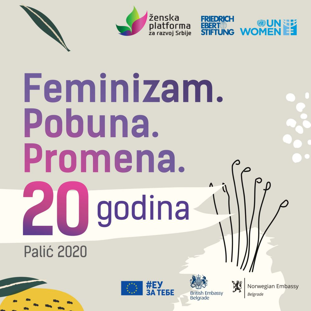 KV instagram e1605782737188 Ženska platforma za razvoj Srbije obeležava 20 godina rada pod sloganom: FEMINIZAM. POBUNA. PROMENA.