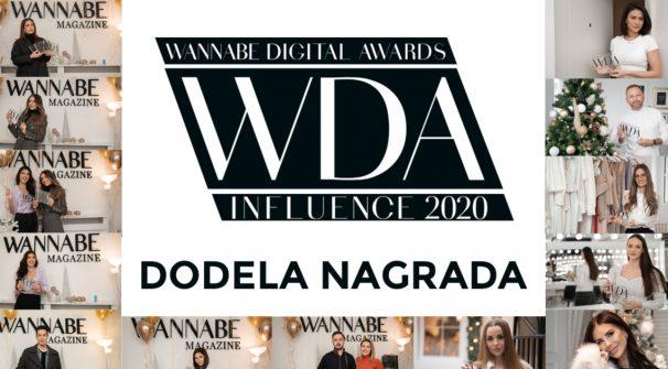 WANNABE Digital Awards 2020: Dodela nagrada