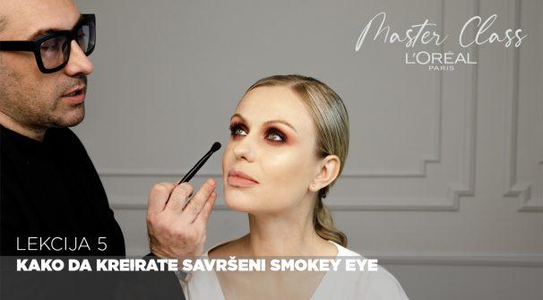 Kako da kreirate savršeni Smokey Eye (L'Oreal Paris Master Class)