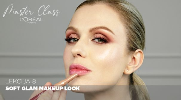 Soft Glam Makeup Look (L'Oreal Paris Master Class)