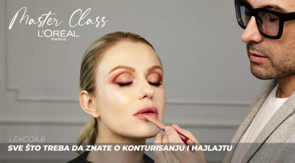 Sve što treba da znate o konturisanju i hajlajtu (L'Oreal Paris Master Class)