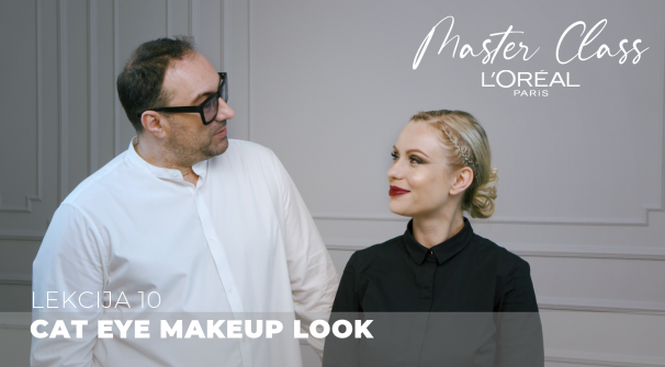 Cat Eye Makeup Look (L'Oreal Paris Master Class)