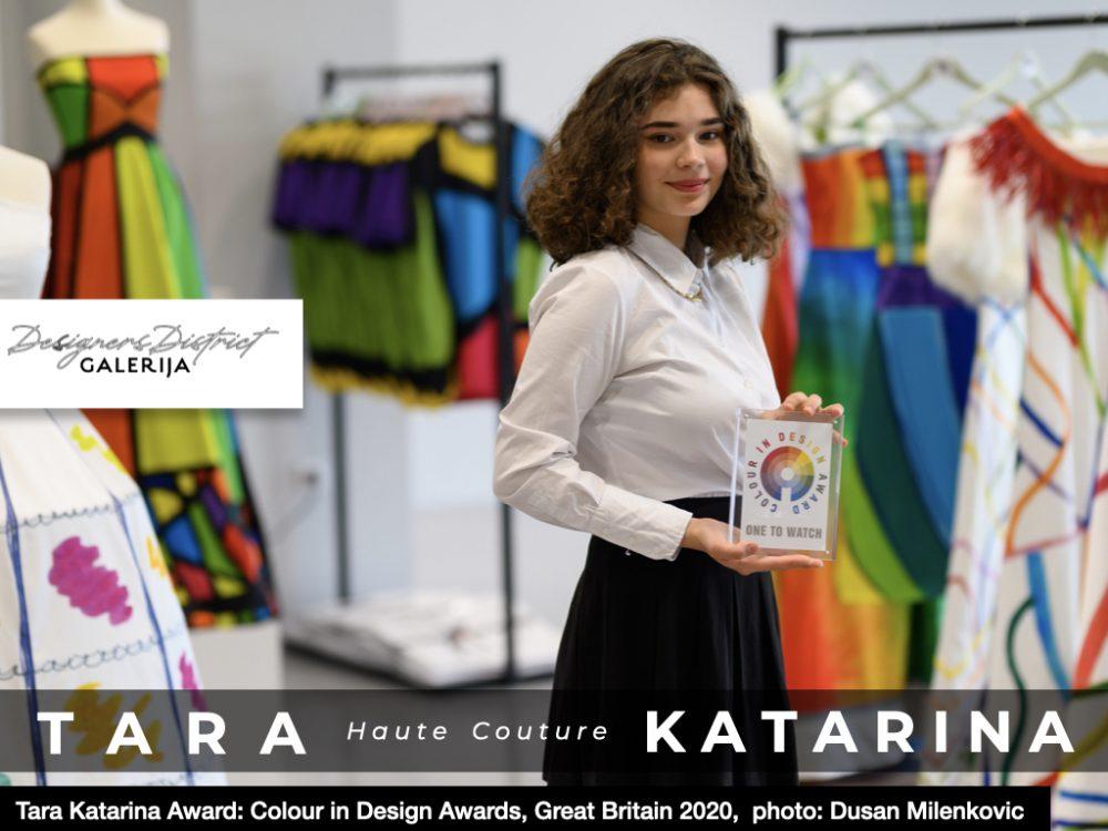 Tara Katarina, modni dizajner od 14 godina: Malo veliko čudo u Galeriji Belgrade