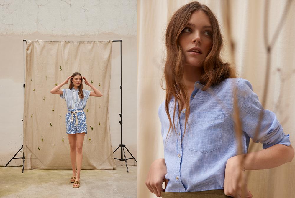 spf 1 Springfield nam predstavlja novu modnu kolekciju sa fokusom na laneni materijal i održivost