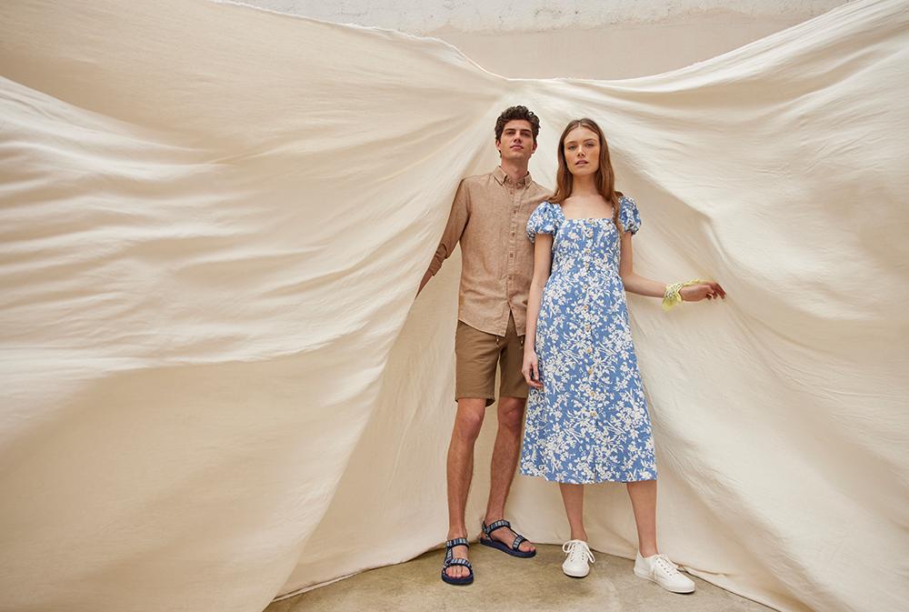 spf 10 Springfield nam predstavlja novu modnu kolekciju sa fokusom na laneni materijal i održivost