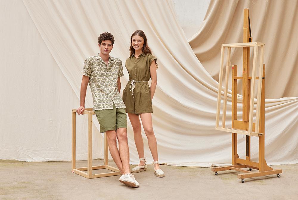 spf 9 Springfield nam predstavlja novu modnu kolekciju sa fokusom na laneni materijal i održivost