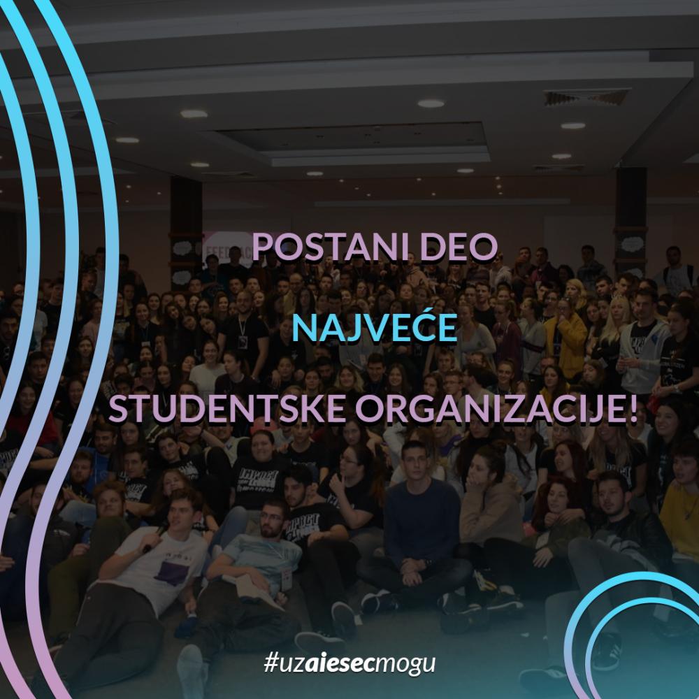 Slika 1080x1080 1 e1620312586470 Prijave su otvorene postani deo najveće studentske organizacije na svetu!