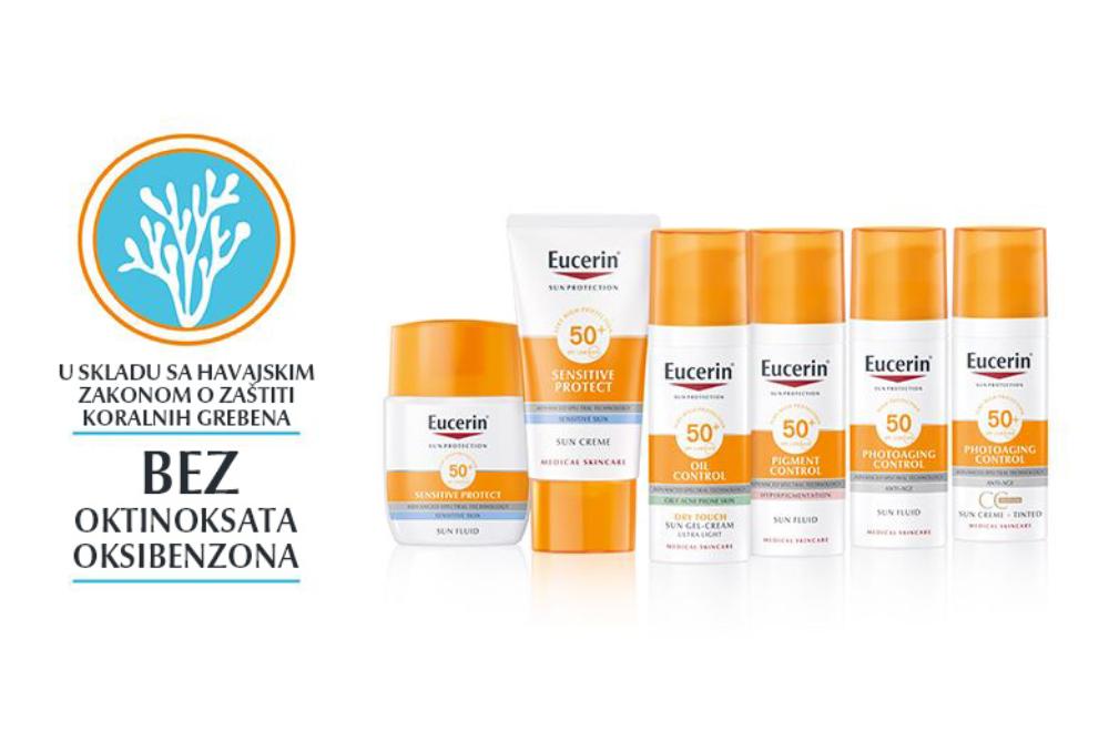 Eucerin preparati za zastitu od sunca 2 1 Eucerin® dermatološka nega i zaštita od sunca   štiti vašu kožu, čuva našu planetu