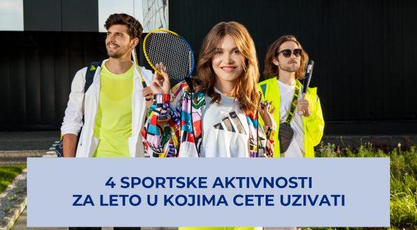 Leto je bolje uz INTERSPORT, a ovo su 4 sportske aktivnosti u kojima ćete uživati