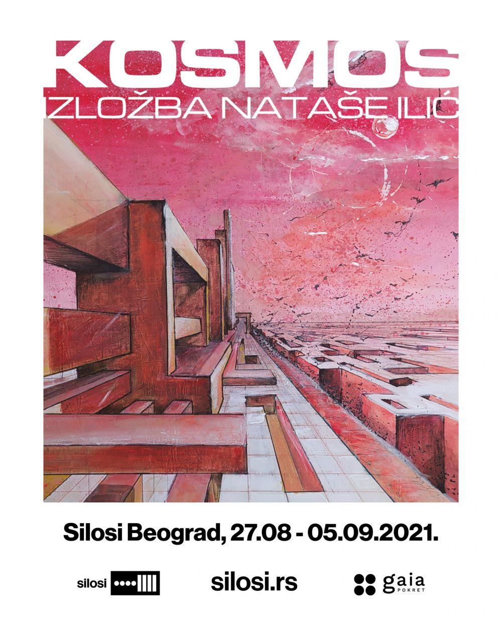 Izlozba Kosmos scaled e1629979423594 Nataša Ilić otvara Kosmos u  beogradskim Silosima