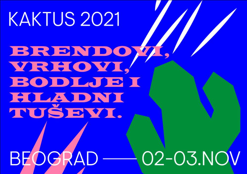 KAKTUS 2021 horizontalni 1 Otvoren konkurs za nagrade KAKTUS 2021!