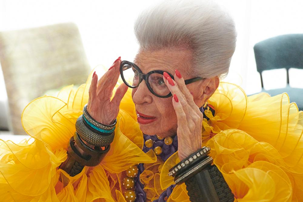 HM IRIS APFEL 1 1 H&M najavljuje saradnju sa modnom ikonom Iris Apfel u čast 100 godina njenog života i inspiracije