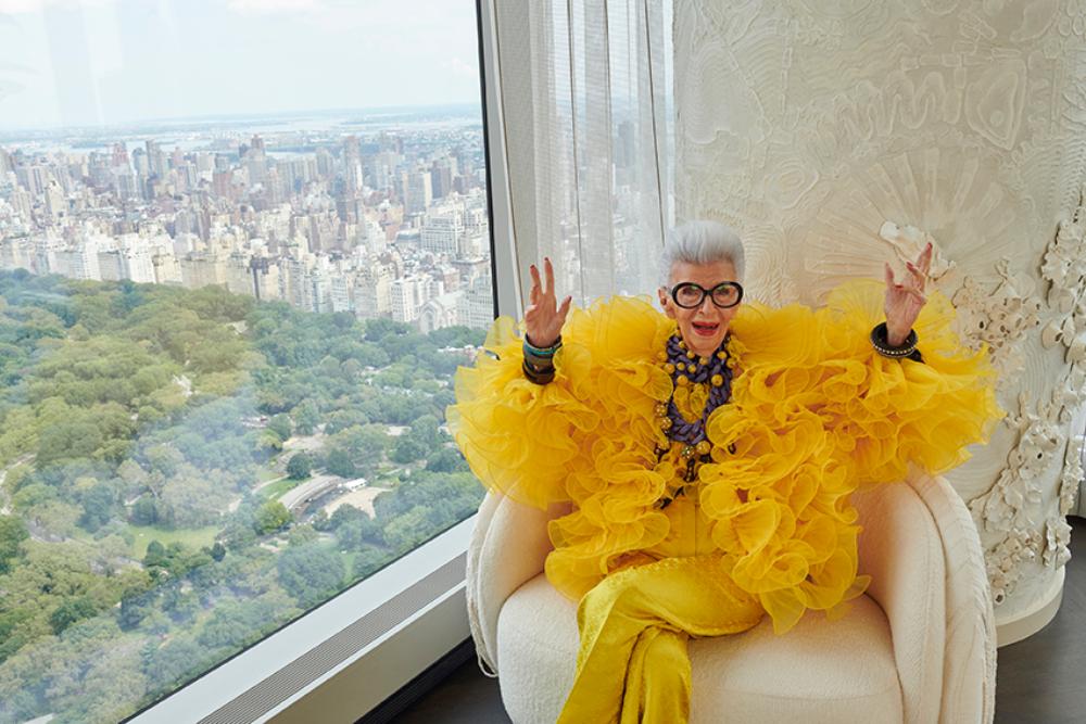 HM IRIS APFEL 3 1 H&M najavljuje saradnju sa modnom ikonom Iris Apfel u čast 100 godina njenog života i inspiracije