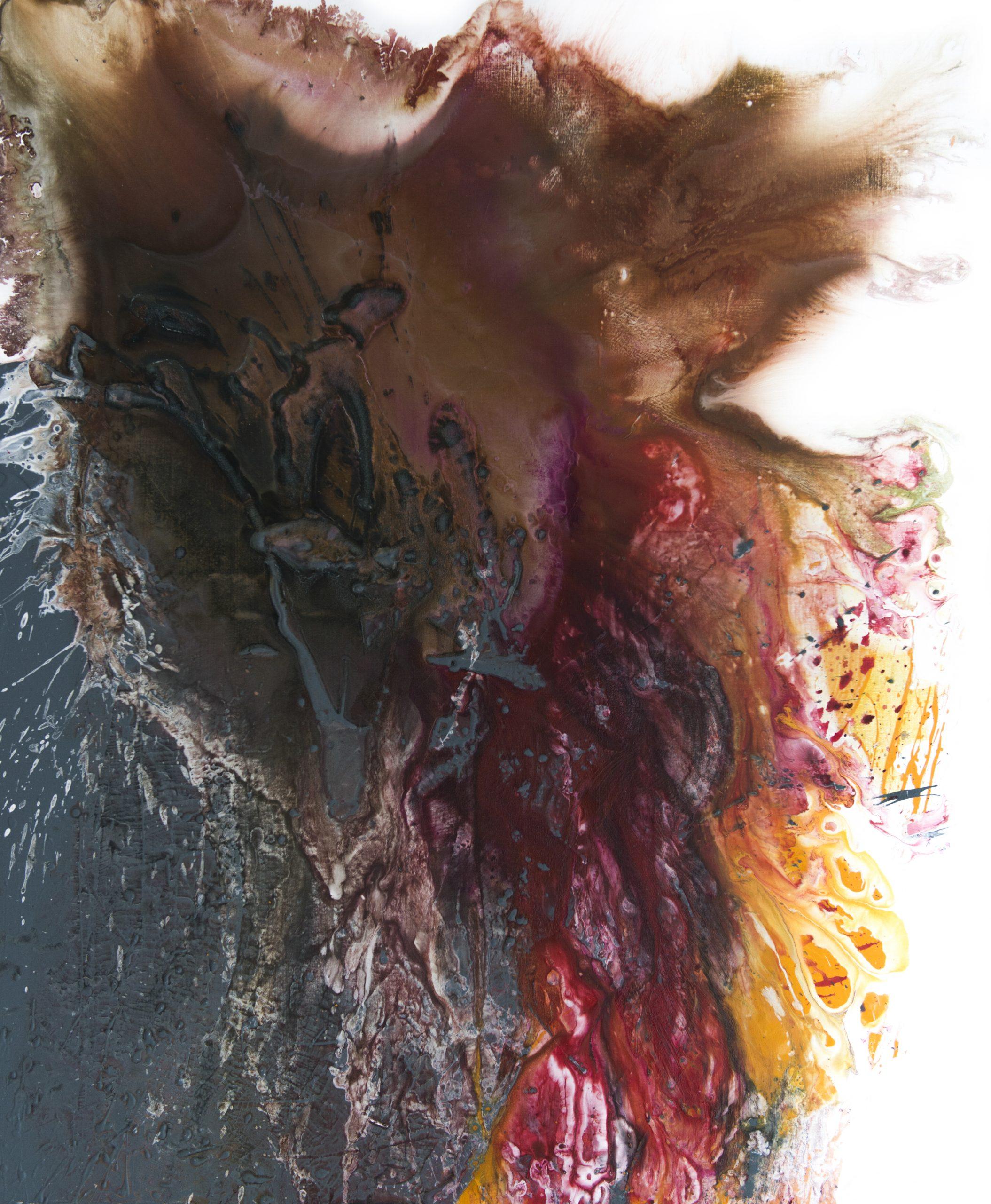 "7 Wannabe Natalija Miladinovic Emotion 120x100cm Acrylic on canvas scaled Umetnica Natalija Miladinović: ""Apstraktni izraz je moja čista emocija"""