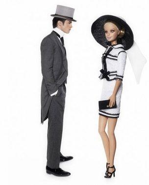 Barbie & Baptiste Giabiconi by Karl Lagerfeld