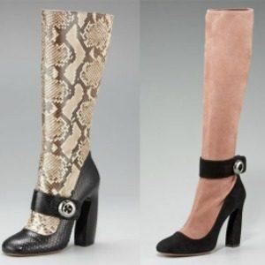 Prada čizme: Ekscentrični Mary Jane modeli