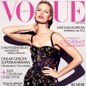 """""""Vogue Turkey"""": Modna princeza Karolina Kurkova"""