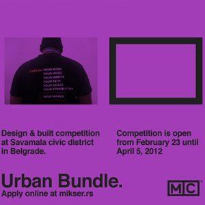 Mikser URBAN BUNDLE: Konkurs za Gradska okupljališta
