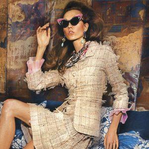 """""""Vogue UK """": Karlie Kloss u retro izdanju"""