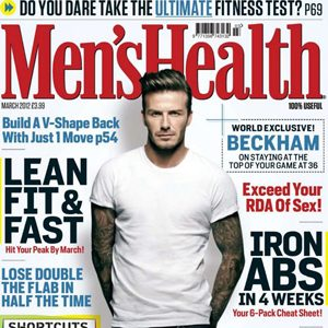"""Men's Health"": Tata David Beckham"